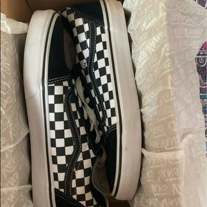 Checkerboard vans(youth size)